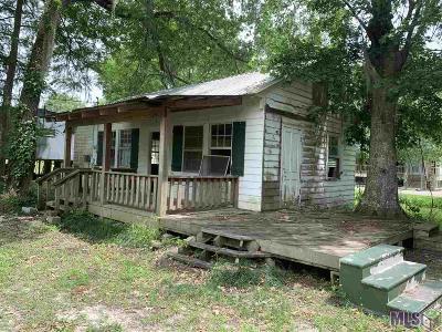 French Settlement Single Family Home For Sale: 14592 Hebert Lambert Rd