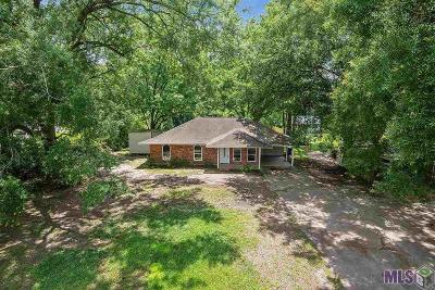 Denham Springs Single Family Home For Sale: 816 Rushing Rd