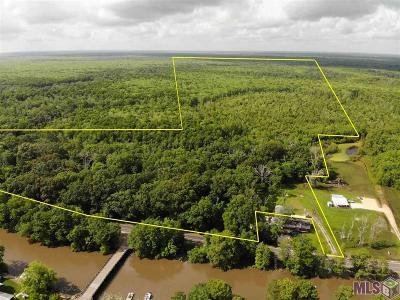 Maurepas Residential Lots & Land For Sale: 183 Acres La Hwy 22