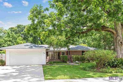 Baton Rouge Single Family Home For Sale: 436 Baird Dr