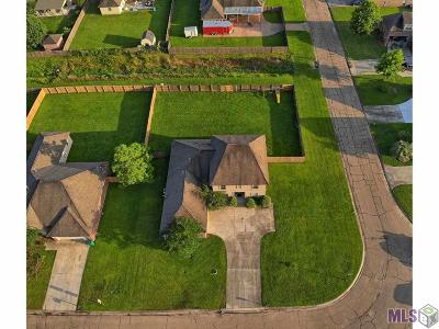 Denham Springs Single Family Home For Sale: 13706 Shady Hollow Dr