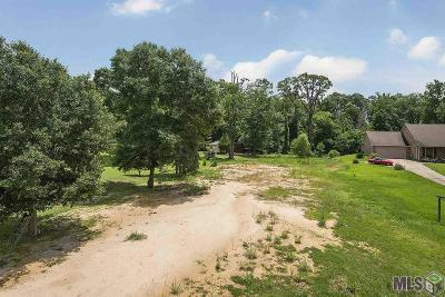 Zachary Residential Lots & Land For Sale: 21630 Wj Wicker Rd