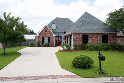 Gonzales Single Family Home For Sale: 13289 Rue Maison Blvd