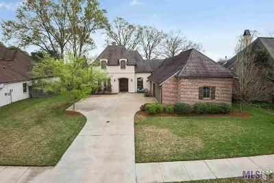Geismar Single Family Home For Sale: 12468 Legacy Hills Dr
