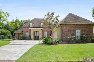 Prairieville Single Family Home For Sale: 18349 Lake Harbor Ln