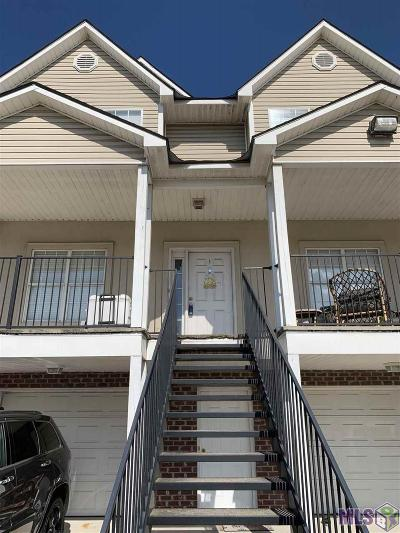 Baton Rouge Condo/Townhouse For Sale: 1500 Brightside Dr #D1
