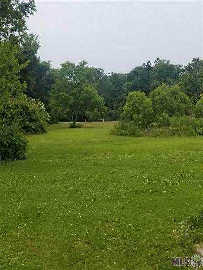 Plaquemine Residential Lots & Land For Sale: 28960 Intracoastal Rd