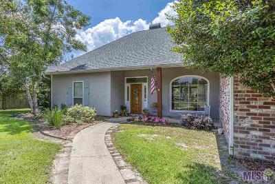 Denham Springs Single Family Home For Sale: 33822 Cypress Bluff Dr