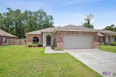 Denham Springs Single Family Home For Sale: 33630 Browning Rd