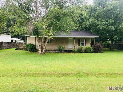 Denham Springs Single Family Home For Sale: 7872 Janelle Dr