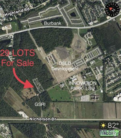 Baton Rouge Residential Lots & Land For Sale: Country Walk