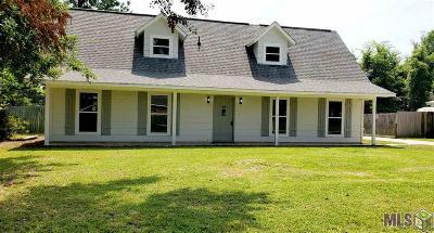Denham Springs Single Family Home For Sale: 26092 Windsong Ave