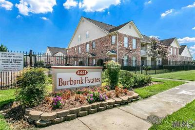 Baton Rouge Condo/Townhouse For Sale: 4441 Burbank Dr #207