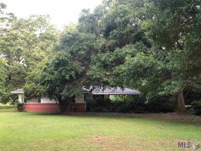 Denham Springs Single Family Home For Sale: 7302 Underwood Pl