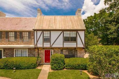 Baton Rouge Condo/Townhouse For Sale: 10053 Jefferson Hwy