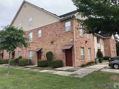 Baton Rouge Condo/Townhouse For Sale: 900 Dean Lee Dr #205
