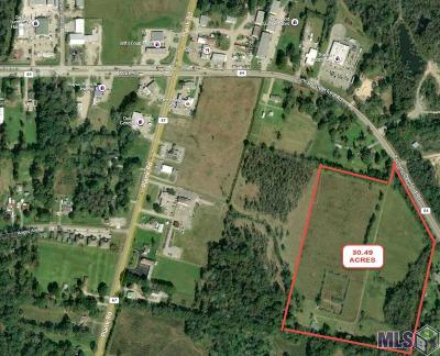 Zachary Residential Lots & Land For Sale: 8384 Zachary-Deerford Rd