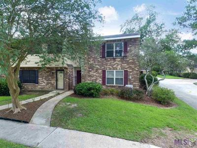 Baton Rouge Condo/Townhouse For Sale: 2414 Shadowbrook Dr