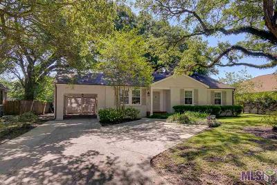 Baton Rouge Single Family Home Contingent: 1527 Country Club Dr