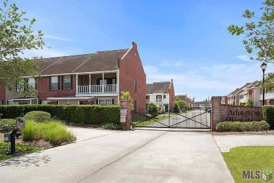 Baton Rouge Condo/Townhouse For Sale: 5131 Arlington Ct