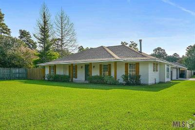 Greenwell Springs Single Family Home For Sale: 17744 Greenwell Springs Rd