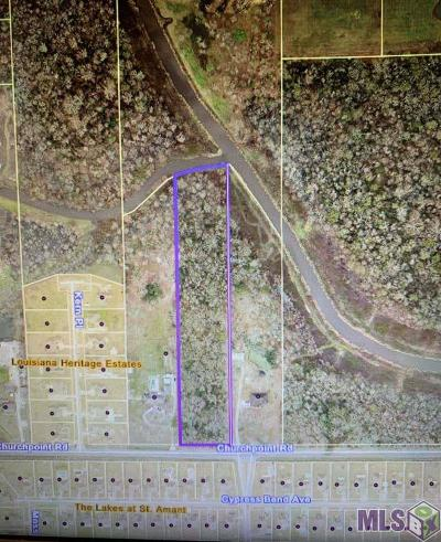Gonzales Residential Lots & Land For Sale: Tbd Church Point Rd