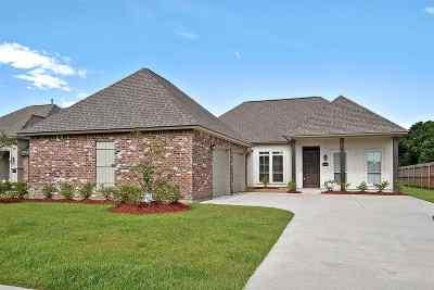 Prairieville Single Family Home For Sale: 16459 Parker Place Dr