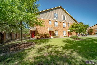 Baton Rouge Condo/Townhouse For Sale: 710 E Boyd Dr #305
