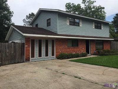 Baton Rouge Single Family Home For Sale: 4009 Downing Dr