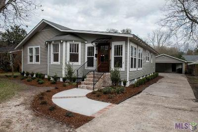 Baton Rouge Single Family Home For Sale: 1826 Stuart Ave