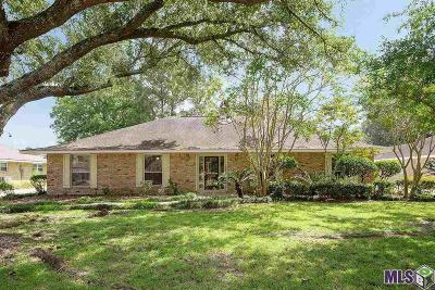 Baton Rouge Single Family Home For Sale: 1489 Castlebury Dr