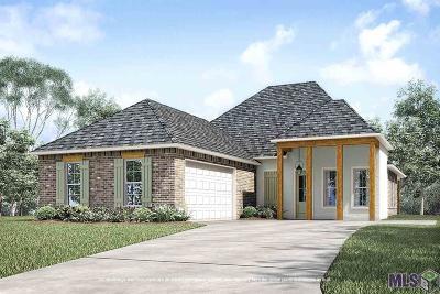 Prairieville Single Family Home For Sale: 15176 Germany Oaks Blvd
