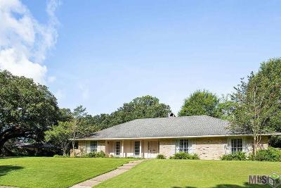 Baton Rouge Single Family Home For Sale: 1645 S Columbine Ct