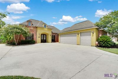 Denham Springs Single Family Home For Sale: 10241 Indian Creek Dr