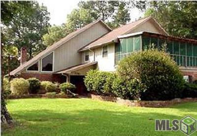 Denham Springs Single Family Home For Sale: 7781 Kingsley Dr
