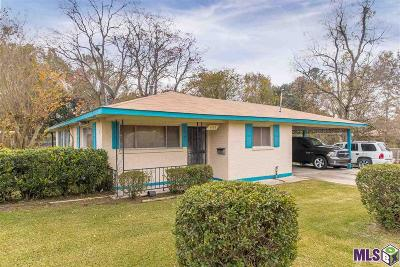 Baton Rouge LA Single Family Home For Sale: $91,000