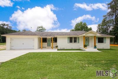 Denham Springs Single Family Home For Sale: 34128 La Hwy 1019