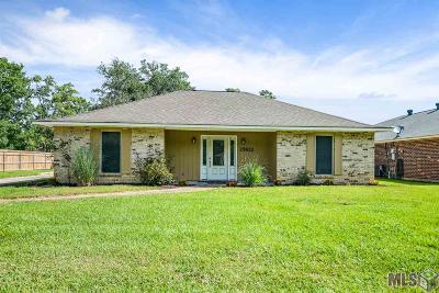 Denham Springs Single Family Home For Sale: 25822 Shadow Brook Ave
