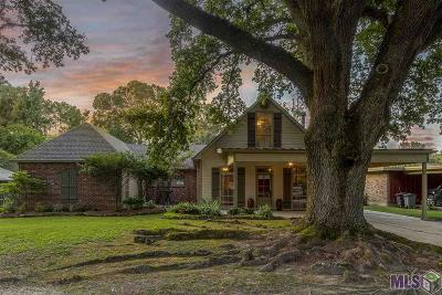 Baton Rouge Single Family Home For Sale: 8635 W Fairway Dr