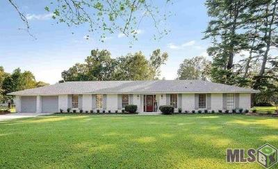 Baton Rouge Single Family Home For Sale: 1074 Fulwar Skipwith Rd