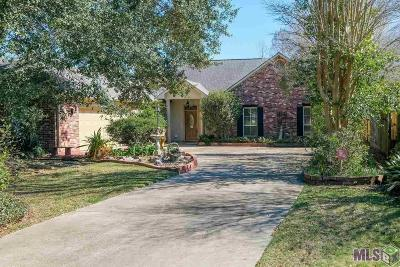 Denham Springs Single Family Home For Sale: 2212857 Cypress Bluff Dr