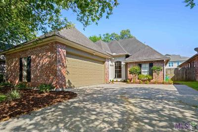 Prairieville, Baton Rouge, Geismar, Gonzales Single Family Home For Sale: 9524 Country Lake Dr