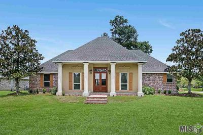 Prairieville, Baton Rouge, Geismar, Gonzales Single Family Home For Sale: 16847 Centurion Ave