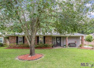 Denham Springs Single Family Home For Sale: 8677 Shadow Springs Blvd