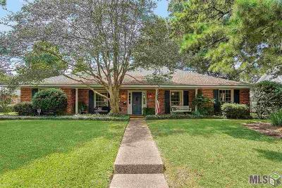 Baton Rouge Single Family Home For Sale: 10965 Goodwood Blvd