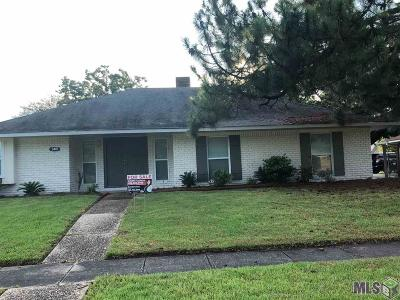 Baton Rouge Single Family Home For Sale: 3401 Lava Beds Dr