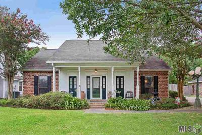 Denham Springs Single Family Home For Sale: 1445 Weeping Willow Dr