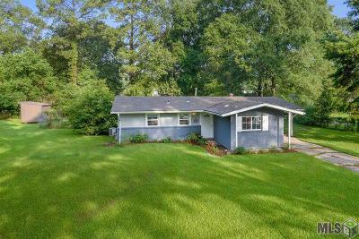 Denham Springs Single Family Home For Sale: 1981 S Woodcrest St