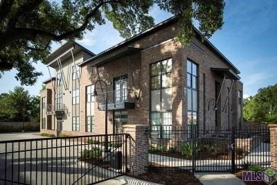 Baton Rouge Condo/Townhouse For Sale: 333 E Boyd Dr #5