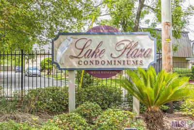 Baton Rouge Condo/Townhouse For Sale: 10286 W Winston Ave #14